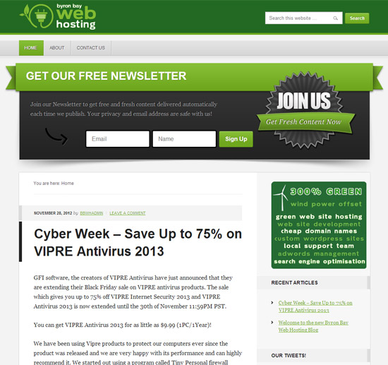 Byron Bay Web Hosting Blog